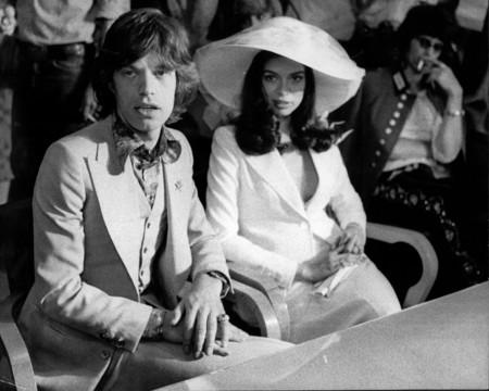 Bianca Jagger E Yves Saint Laurent