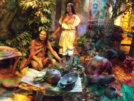 There Are Historical Displays That Show How Chocolate Was First Created By The Ancient Mayans