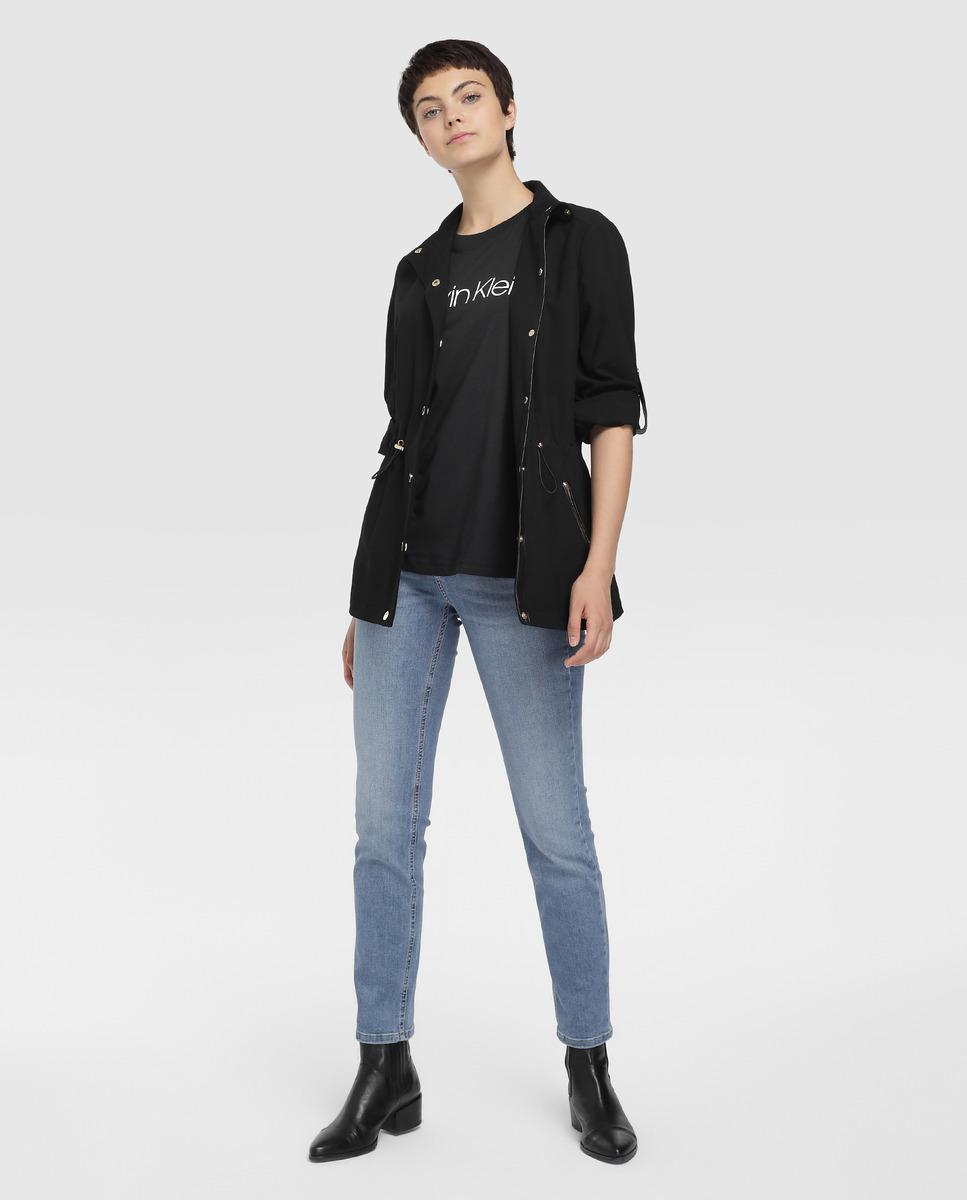 Vaquero slim de mujer Calvin Klein con lavado claro