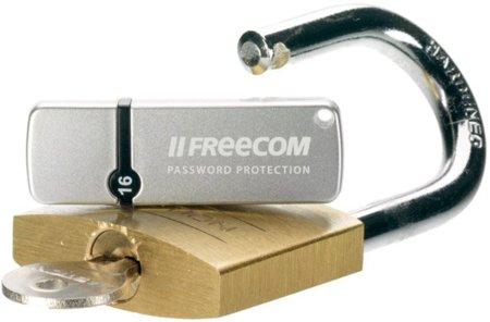 Freecom Databar Secure, una memoria USB para despistados