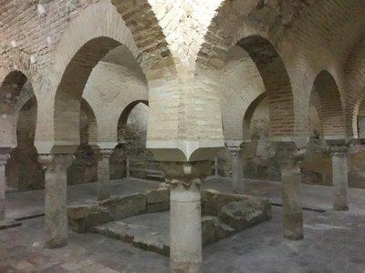 Los baños árabes, visita obligada en Jaén