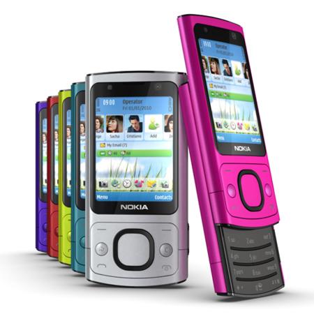 Nokia 6700 slide y 7230 presentados