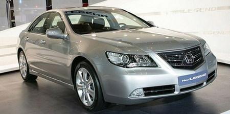 Honda Legend 2009, primera foto de su restyle