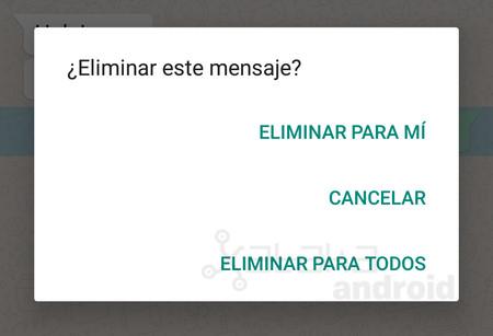 Cómo eliminar un mensaje de WhatsApp para que nadie lo vea