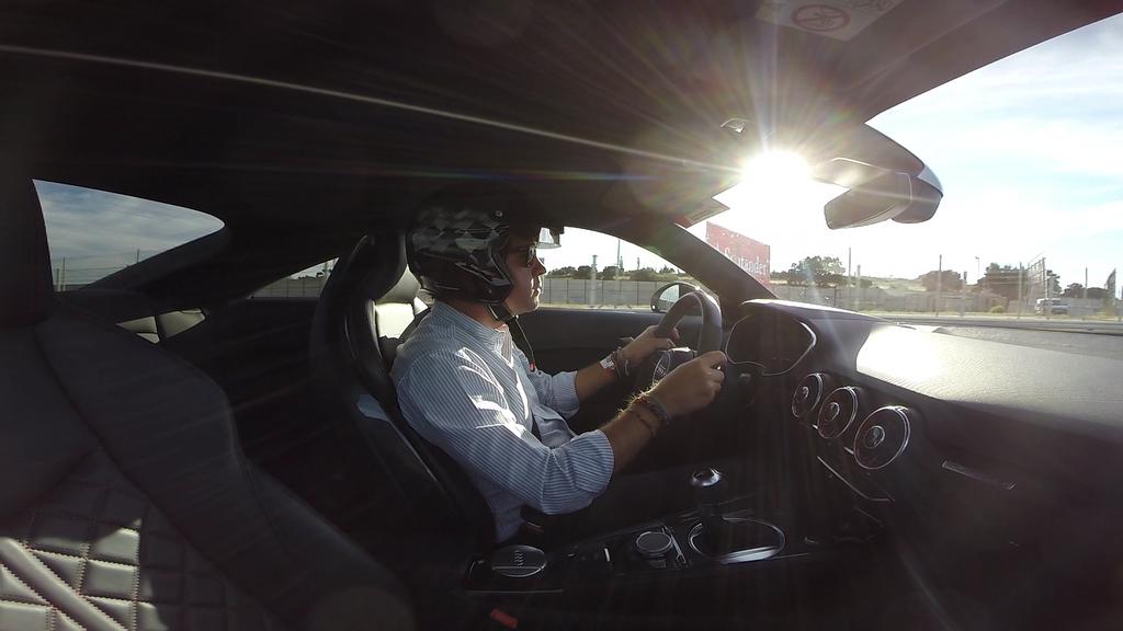 Audi TT RS prueba