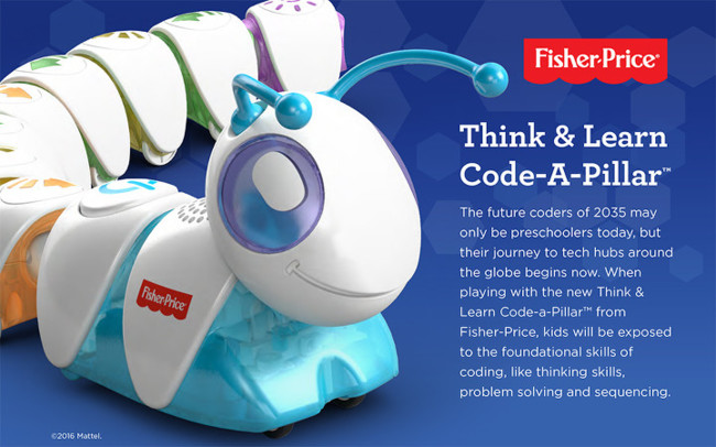 Code A Pillar Fisher Price 2