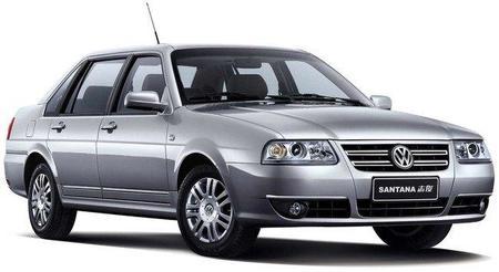 Volkswagen Santana China