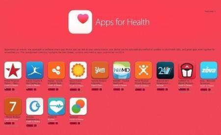 Apps for Health: la nueva sección de la App Store que completará Healthkit