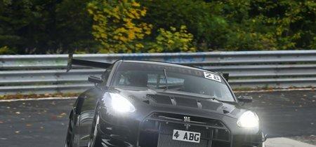 Este Litchfield LM1 RS GT-R casi de carreras quiere batir el tiempo del GT2 RS en Nürburgring