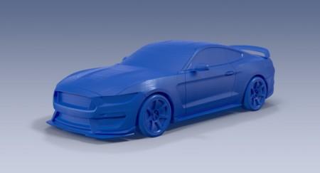 Si no puedes comprar tu propio Shelby GT350R, al menos ya lo puedes imprimir en 3D