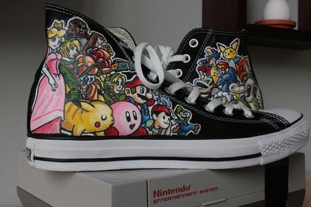 Converse homenaje a Nintendo