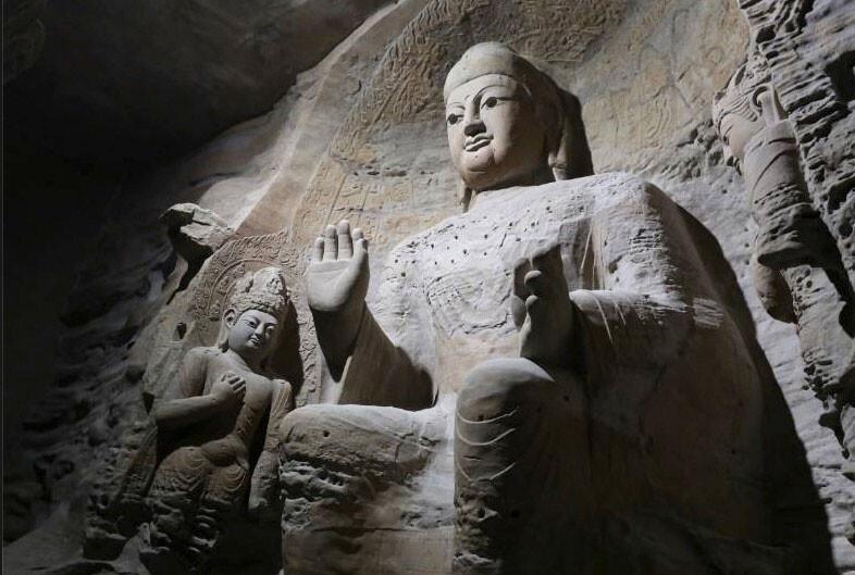 Si no puedes mover una cueva, imprímela: en China hicieron una réplica transportable de las Grutas de Yungang con impresión 3D