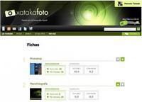 Nuevo índice de fichas de producto en Xataka Foto