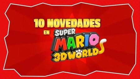 'Super Mario 3D World' nos da diez motivos para comprarlo