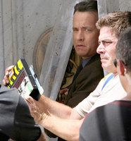 """Tom Hanks comienza a rodar """"Ángeles y Demonios"""""""