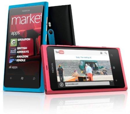 Nokia Lumia 800, nuevo teléfono móvil con un diseño excepcional