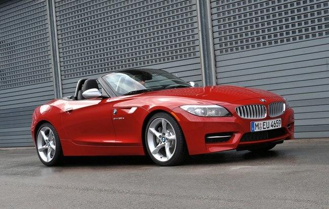 BMW Z4 rojo