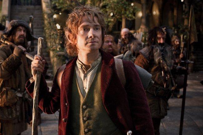Martin Freeman es Bilbo Bolsón