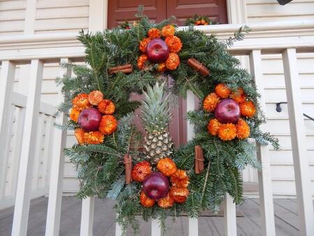 Quince coronas de Navidad DIY muy originales, que hemos visto en el puente en Instagram