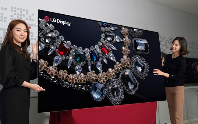 Las teles OLED 8K podrían llegar a finales de 2019: LG Display comenzará a producir paneles en mayo