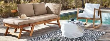 Nueve muebles de jardín rebajados de Maisons du Monde con los que inaugurar el verano con el mejor estilo