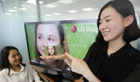 LG presenta una pantalla con resolución mayor a la Retina Display