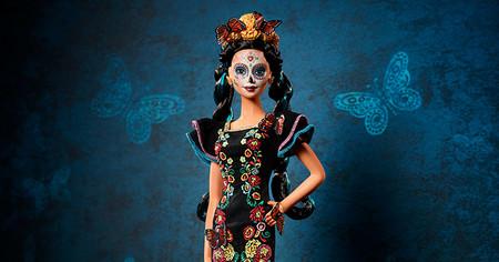 Barbie Detalle Edicion Dia De Muertos