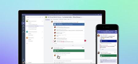 Microsoft lanza una versión gratuita Teams que compite directamente con Slack