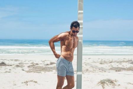 David Gandy Marks And Spencer Spring Summer 2016 Beachwear 006