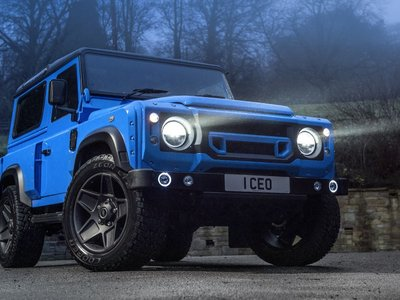 "Kahn Design homenajea al Land Rover Defender con una edición ""The End"""