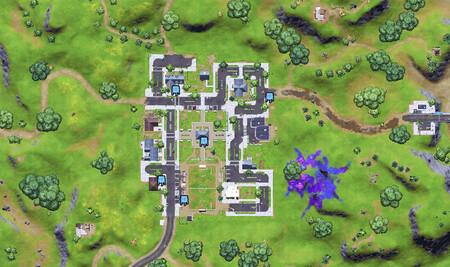 Dónde están los carteles de bienvenida, estéreos y dispositivos luminosos en el mapa de Fortnite Temporada 7
