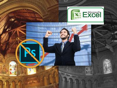 Olvídate de Photoshop, un estudiante de informática aficionado a la fotografía ha procesado una imagen HDR ¡con Excel!