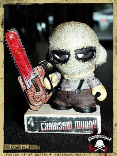 Los 10 diseños más originales de un Munny. Resident Evil