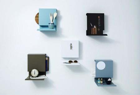 Mini estantes de pared de Linde&Linde te ayudan a mantener el orden