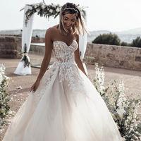 Estos son los vestidos de novia estilo princesa que las bloggers han llevado en su gran día (y podrían inspirarte)