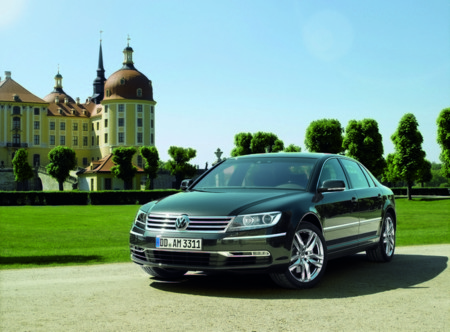 Volkswagen Phaeton Electrico