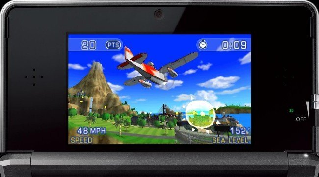 PilotWings 3DS cover