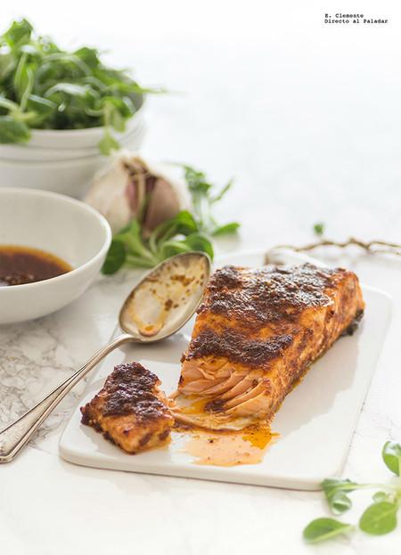 Salmon Al Horno Cajun