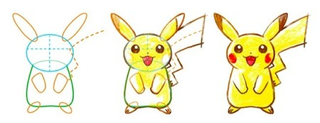 Aprender a dibujar manga con las consolas portátiles de Nintendo y el juego de Pokemon Art Academy