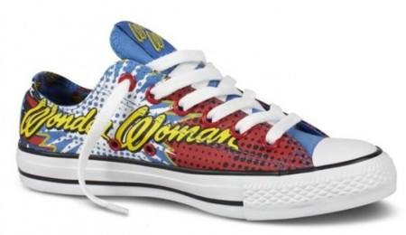 Converse de Wonder Woman en edición limitada