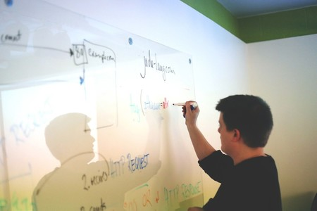 White Board Startup Start Up Education