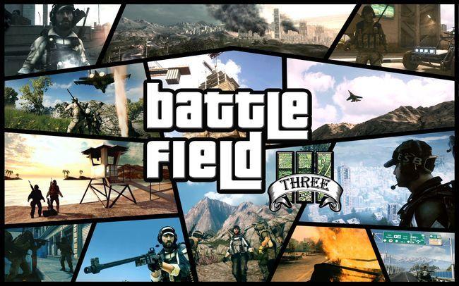 GTA V parodiado por el Battlefield 3