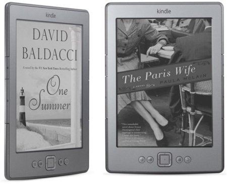 Amazon renueva el Kindle y aumenta la familia con el Kindle Touch