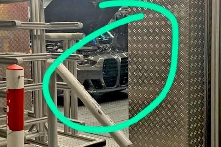 BMW M4 filtrado