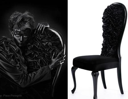 """Colección de muebles """"Couture"""" de María Barros"""