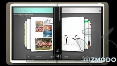 Microsoft Courier se parece más a un diario que a un tablet