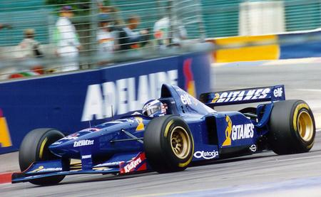 Olivier Panis - Ligier JS41 Adelaide