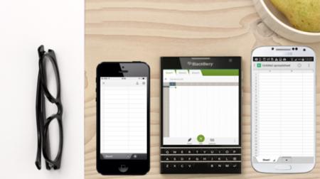 BlackBerry explica por qué Passport es cuadrada: para mostrar 60 caracteres por línea