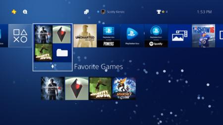 La actualización más grande del PlayStation 4 ya está aquí: HDR, carpetas de juegos y más