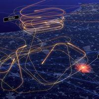 Un drone volando cerca de un aeropuerto ha provocado un caos y este vídeo nos lo muestra de forma clara y concisa